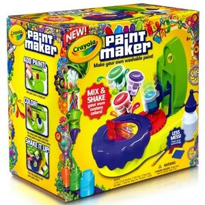 Crayola Paint Maker, Make Your Own Washable Paint,